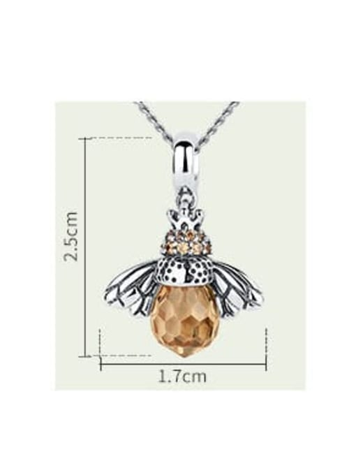 One Next 925 Silver Bee Element Necklace