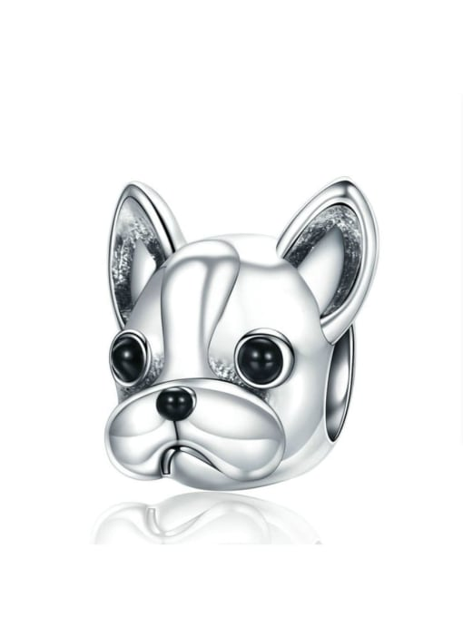 Maja 925 Silver Cute Dog Pendant