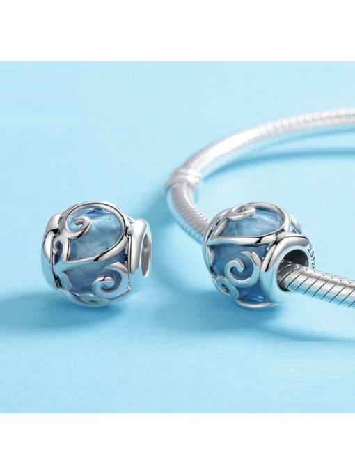 Maja 925 silver lucite charm