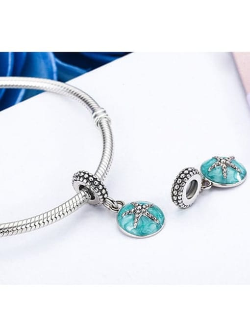 Maja 925 silver cute starfish charm