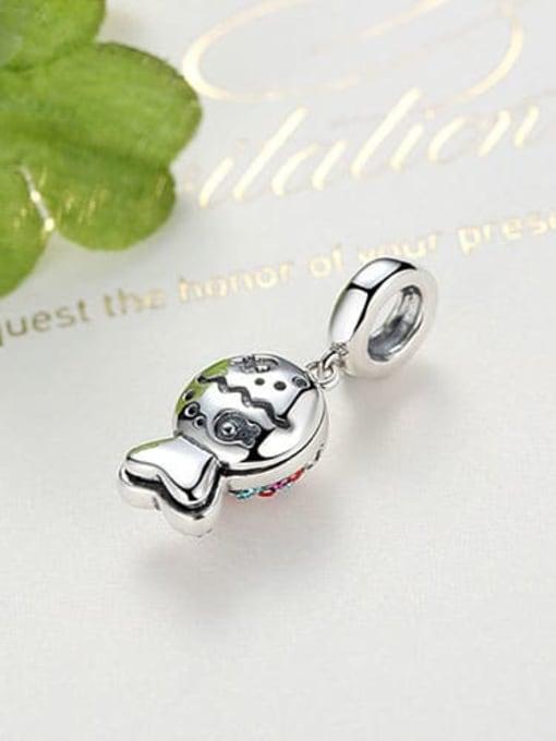 Maja 925 silver cute fish charm