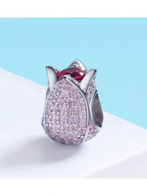 Maja 925 silver cute tulip charm