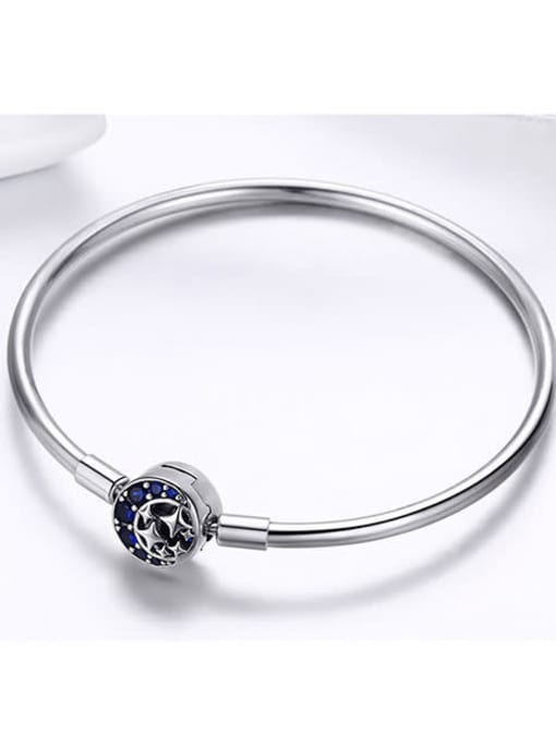 Maja 925 Silver Star Moon Element Basic Bracelet