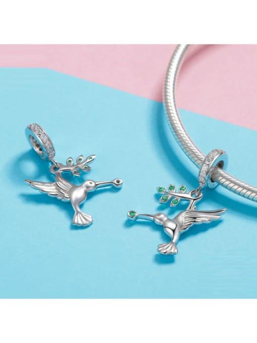 Maja 925 silver cute bird element accessories