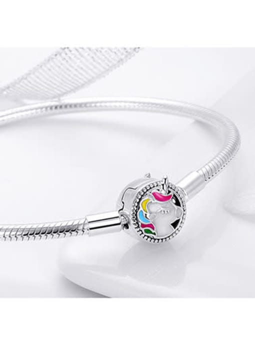 Maja 925 silver cute unicorn element basic bracelet