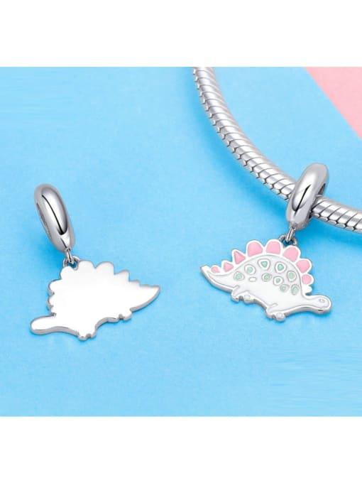 Maja 925 silver cute dinosaur charm