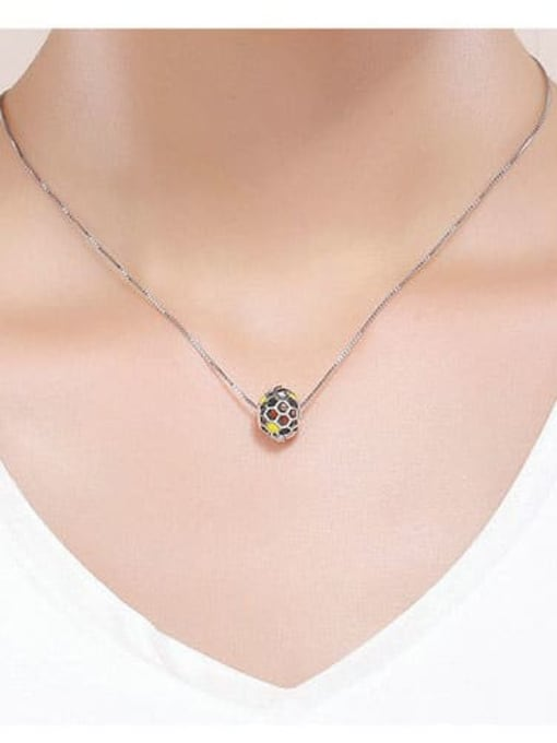 Maja 925 Sterling Silver With Antique Silver Plated Cute Charm Charm