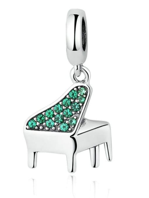 Maja 925 silver piano charm