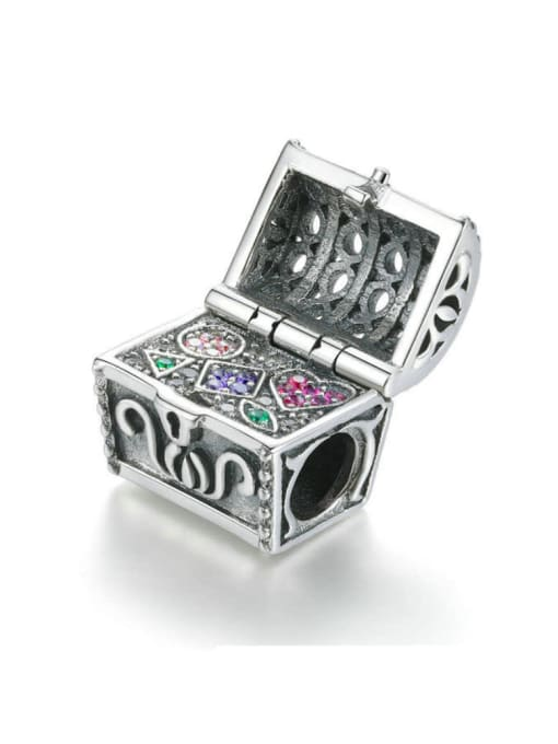 Maja 925 Silver Treasure Box charm
