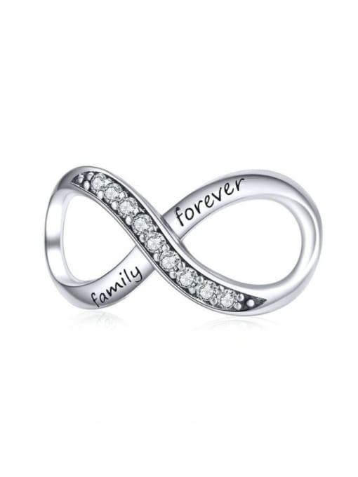 Maja 925 silver endless love charm