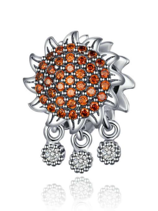Maja 925 silver sunflower charm