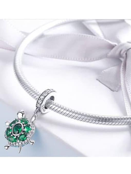 Maja 925 Silver Cute Turtle charm