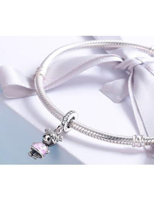 Maja 925 silver girl charm