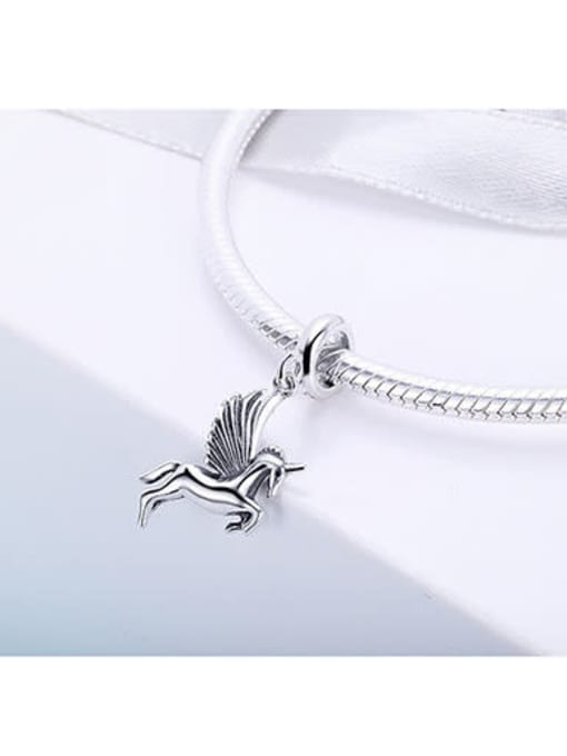 Maja 925 silver cute unicorn charm