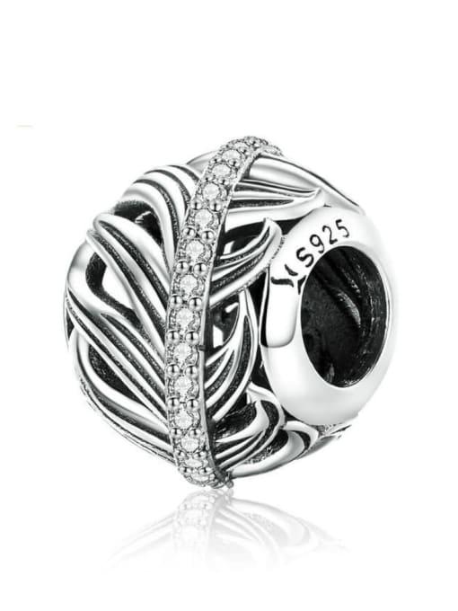 Maja 925 silver feather charm