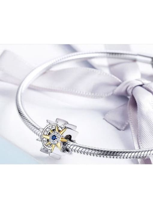 Maja 925 silver star moon charm