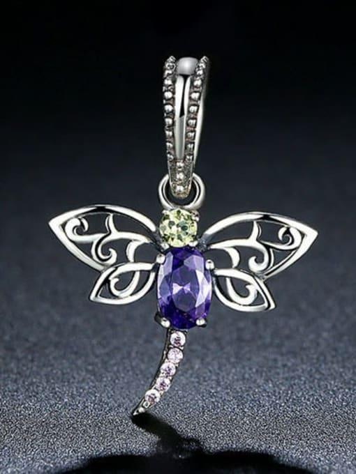 Maja 925 silver cute dragonfly charm