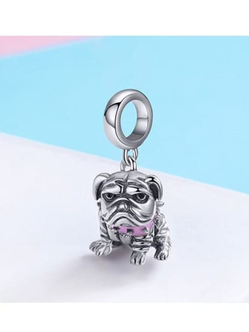 Maja 925 silver cute dog charm
