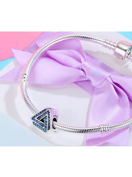 Maja 925 silver triangle shape element accessories