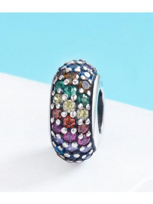 Maja 925 Silver Rainbow Bead charm