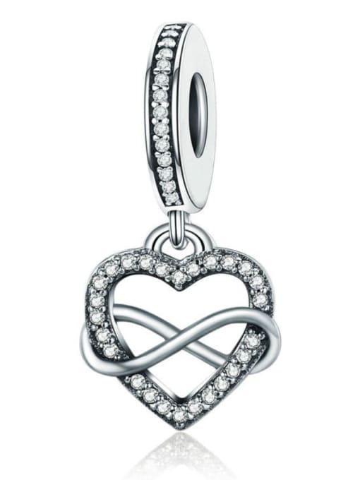 Maja 925 silver cute heart charm