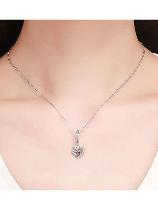 Maja 925 Silver Mother's Day Rose charm