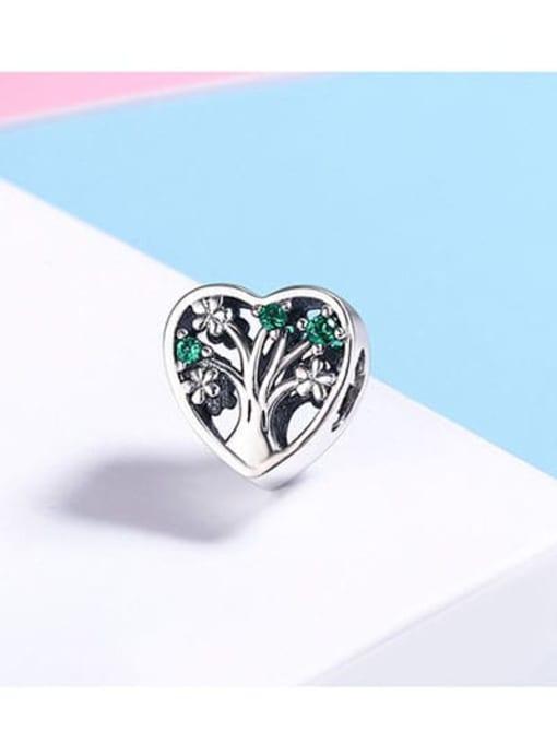 Maja 925 silver cute tree charm