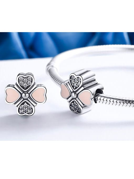 Maja 925 silver four-leaf clover element accessories