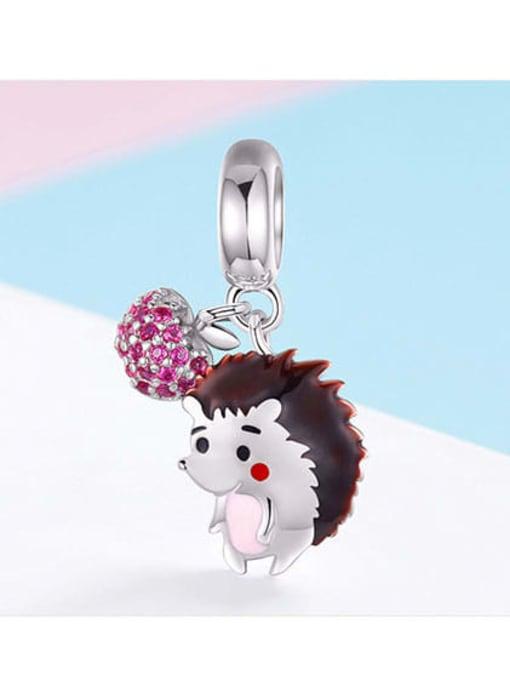 Maja 925 silver cute hedgehog charm