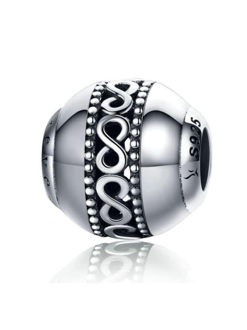 Maja 925 Silver Endless Symbol charm