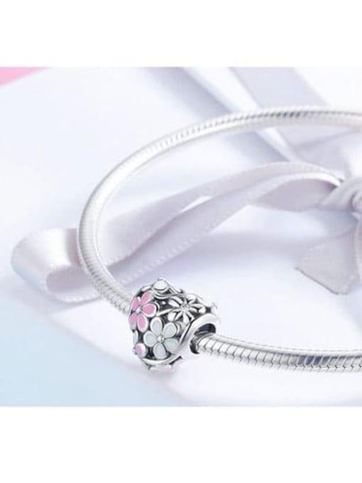 Maja 925 silver cute flower charm