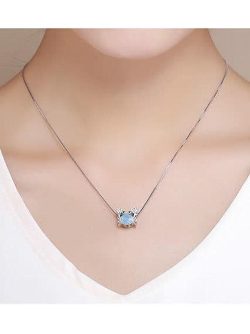 Maja 925 silver cute crab charm