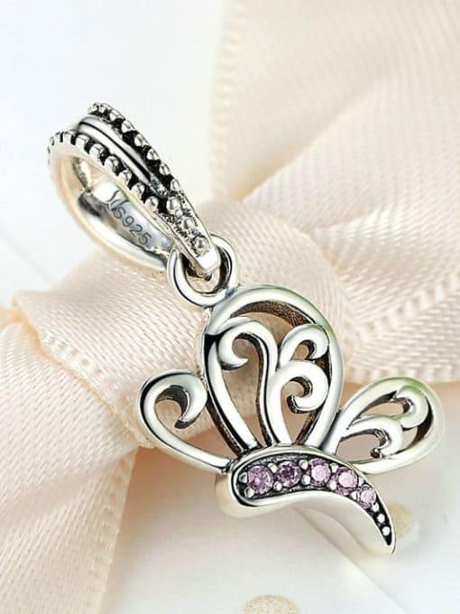Maja 925 silver cute butterfly charm
