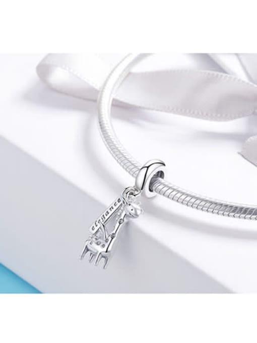 Maja 925 silver cute giraffe charm