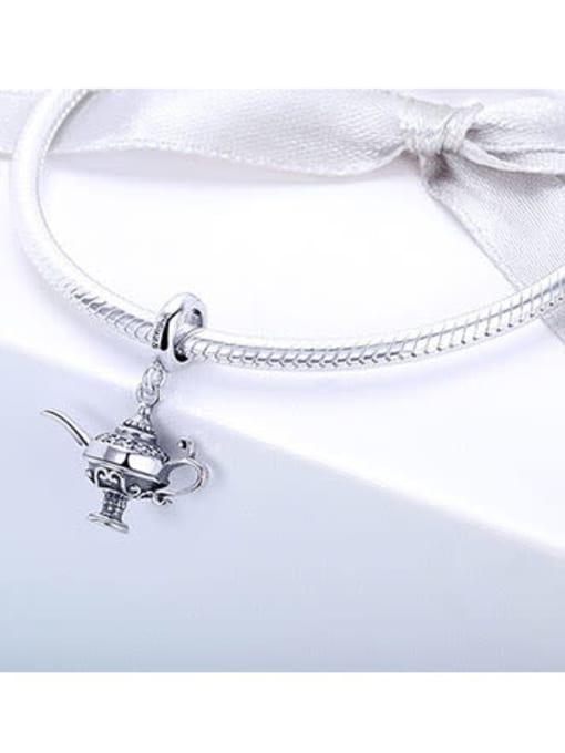 Maja 925 Silver Aladdin Lamp charm