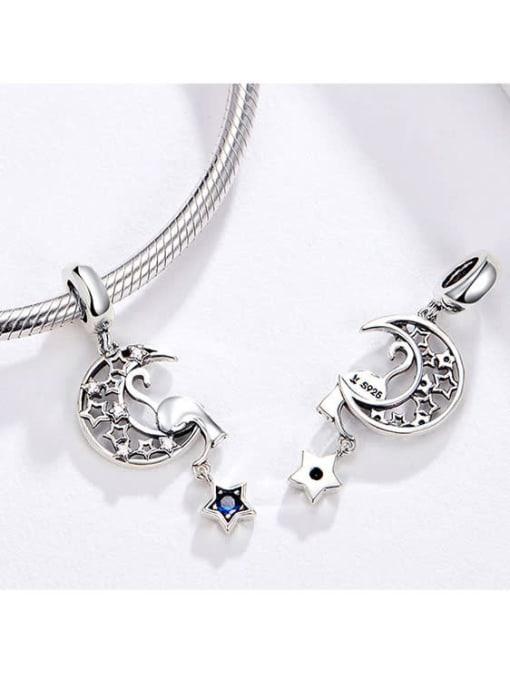 Maja 925 silver stars and moon charm