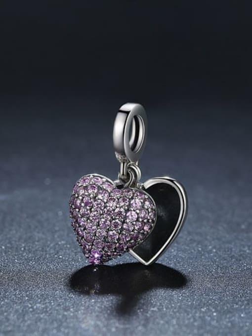 Maja 925 silver romantic heart charm