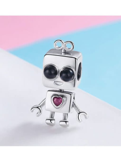 Maja 925 silver cute doll charm