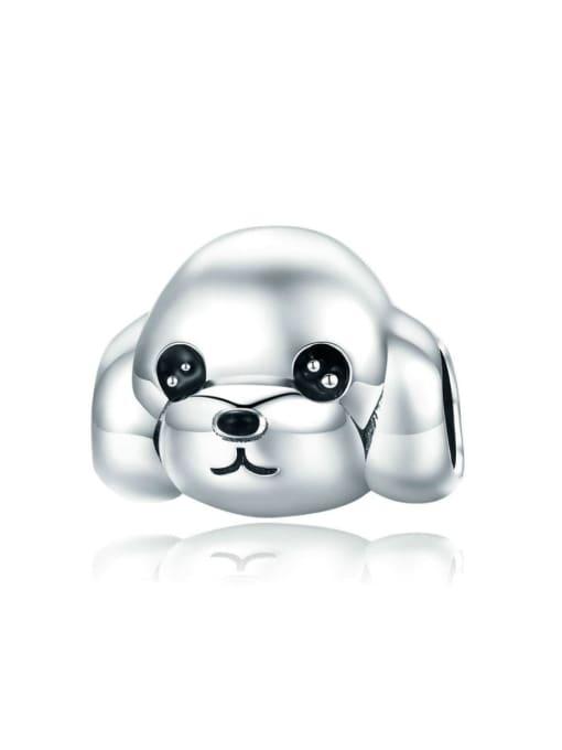 Maja 925 Silver Cute Dog Pendant