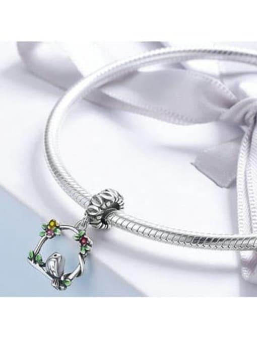 Maja 925 silver cute bird charm
