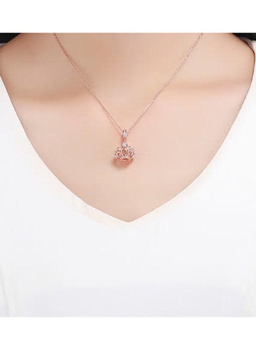 Maja 925 silver cute crown charm