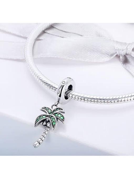 Maja 925 Silver Fresh Coconut Tree charm