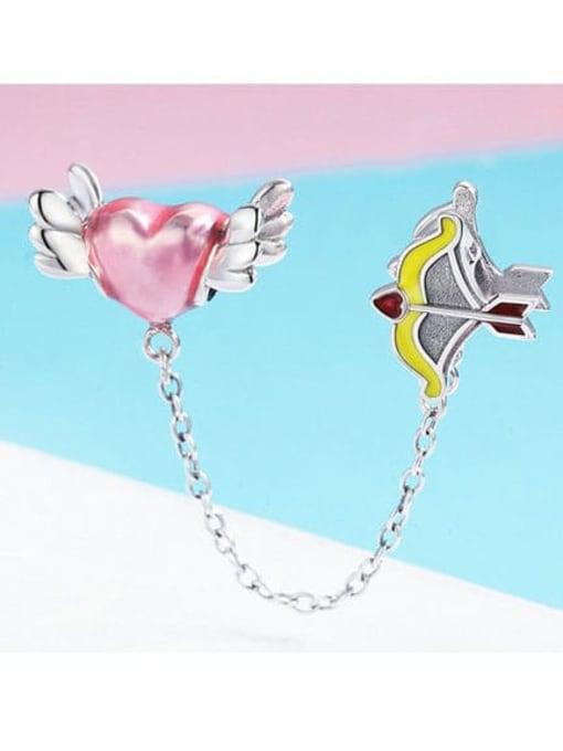 Maja 925 Silver Cupid charm