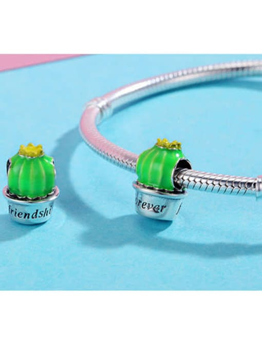 Maja 925 silver cute prickly pear charm