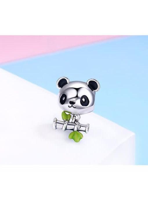 Maja 925 silver cute panda charm