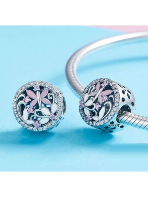 Maja 925 silver cute enamel charm