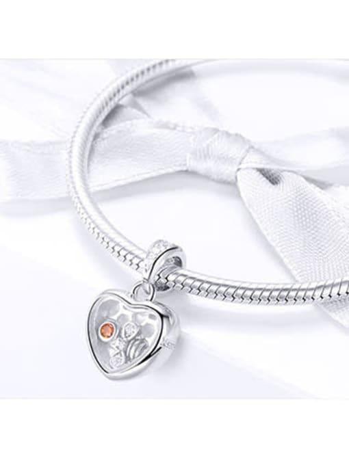 Maja 925 Silver Honeycomb charm