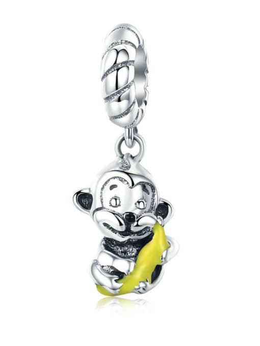 Maja 925 silver cute monkey charm