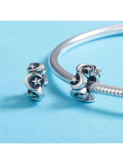 Maja 925 silver star moon element accessories