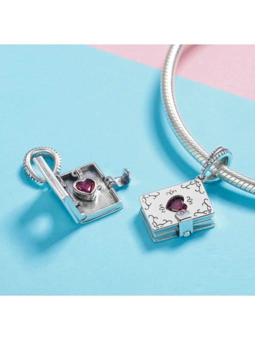 Maja 925 Silver Romantic Love Letter charm